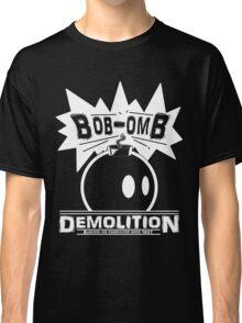 Bob-Omb Demolition White Classic T-Shirt