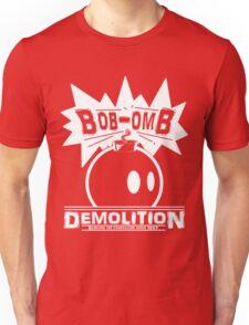 Bob-Omb Demolition White Unisex T-Shirt