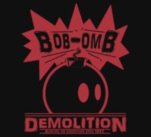 Bob-Omb Demolition red Kids Clothes