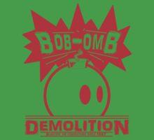 Bob-Omb Demolition red Kids Clothes