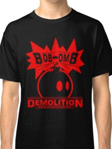 Bob-Omb Demolition red Classic T-Shirt