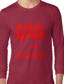 Bob-Omb Demolition red Long Sleeve T-Shirt