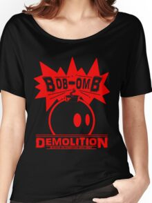 Bob-Omb Demolition red Women's Relaxed Fit T-Shirt