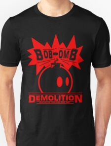 Bob-Omb Demolition red T-Shirt