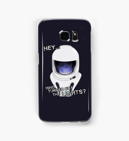 """Hey Who Turned Out The Lights"" Samsung Galaxy Case/Skin"