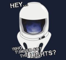 """Hey Who Turned Out The Lights"" Kids Tee"