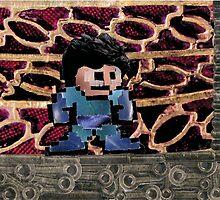 Mega Man vs Quickman by delawarex