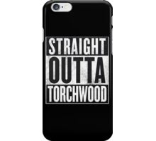 Straight Outta Torchwood iPhone Case/Skin