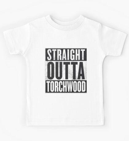 Straight Outta Torchwood Kids Tee