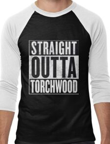 Straight Outta Torchwood Men's Baseball ¾ T-Shirt