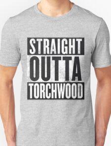Straight Outta Torchwood Unisex T-Shirt