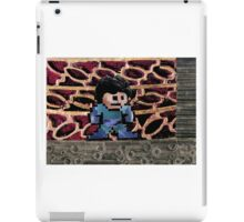 Mega Man vs Quickman iPad Case/Skin