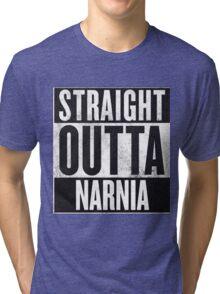 Straight Outta Narnia Tri-blend T-Shirt