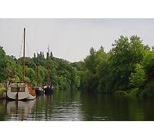 Sail Boats At Allington Photographic Print