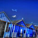 Beach Hut Blues by geoff curtis