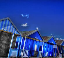 Beach Hut Blues by geoff curtis