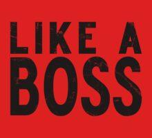 Like A Boss [BLACK] One Piece - Long Sleeve