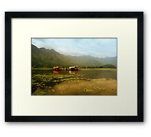 Dal Lake  Framed Print