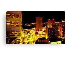 Night on Canal Street Canvas Print