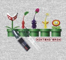 Nintend'Gro Gardening,  One Piece - Long Sleeve
