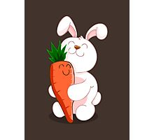 BUNNY LOVE! Photographic Print