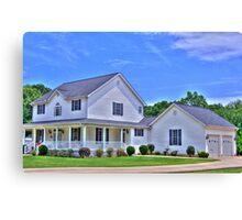 House in Pendleton SC Canvas Print