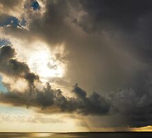 Storm Over the Bay by Greg Riegler