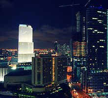 Downtown Miami by ekmarinelli
