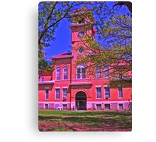 Elk County Courthouse Canvas Print