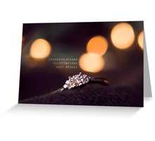 Engagement #2 Greeting Card