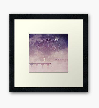 Time Portal Framed Print