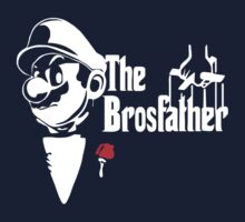 Mario Nintendo, Super, Retro, Nerd, Der Pate, Godfather, Fun Kids Clothes