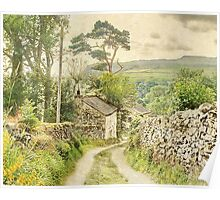 The Hamlet Of Wharfe ~ Yorkshire Poster