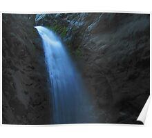 Top of Zapata Falls Poster