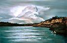 Peaceful fishing by Elisabeth Dubois