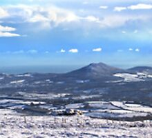 Panorama - Wicklow Mountain - wide by ezequielm