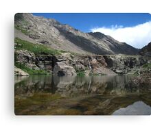 Willow Creek Lake Reflections Canvas Print