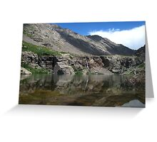 Willow Creek Lake Reflections Greeting Card