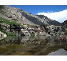 Willow Creek Lake Reflections Photographic Print