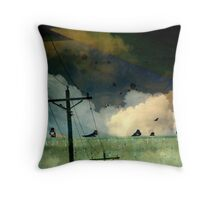 Cyber Attacks Throw Pillow