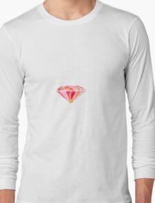 Pink Diamond Long Sleeve T-Shirt