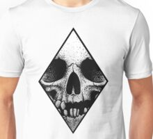 Diamond Skull Unisex T-Shirt