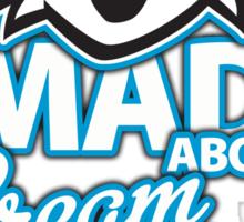 Mad About Cream Puffs Sticker