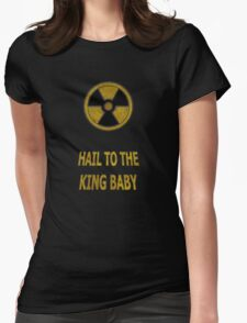 Duke Nukem - Hail To The King Baby! Womens Fitted T-Shirt