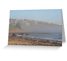 Sea-mist at the Cove,S.A. Greeting Card