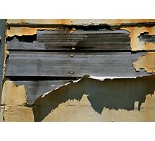 Sagging boards and peeling paint... Photographic Print