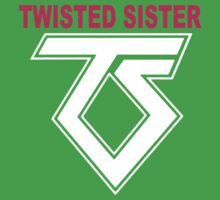 New TWISTED SISTER Old School Rock Band Kids Clothes
