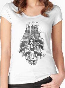 Dark Alice Women's Fitted Scoop T-Shirt
