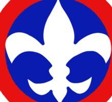 Captain Louisiana - Fleur de Lis Sticker