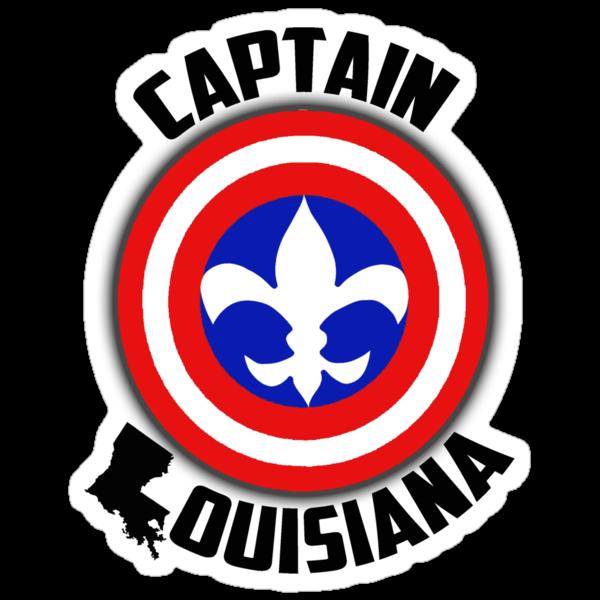 Captain Louisiana - Fleur de Lis by michellemac